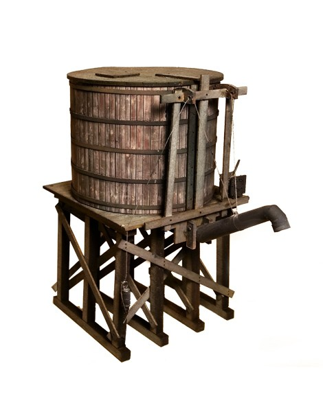 Small Water Tower - Kit - O Scale 1:48