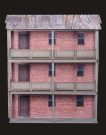 O Scale 1:48 Structure Kits - Trackside Scenery