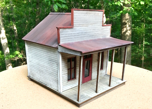 Country Store - Small Structure Kit (O Scale 1:48)